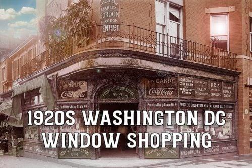 Peoples Drug Store - Washington DC 1920