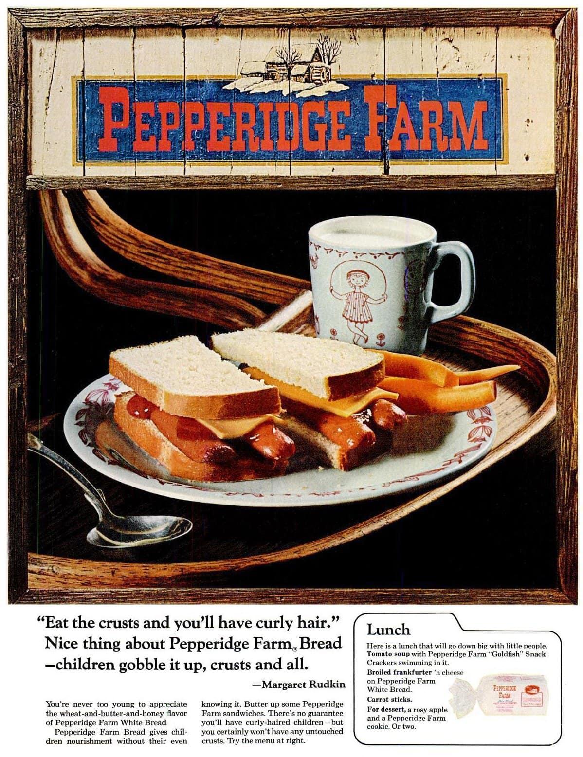 Pepperidge Farm bread (1966)