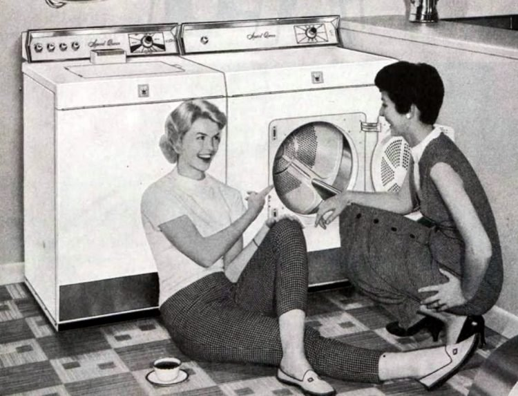 Perfect 50s housewife - laundry (2)