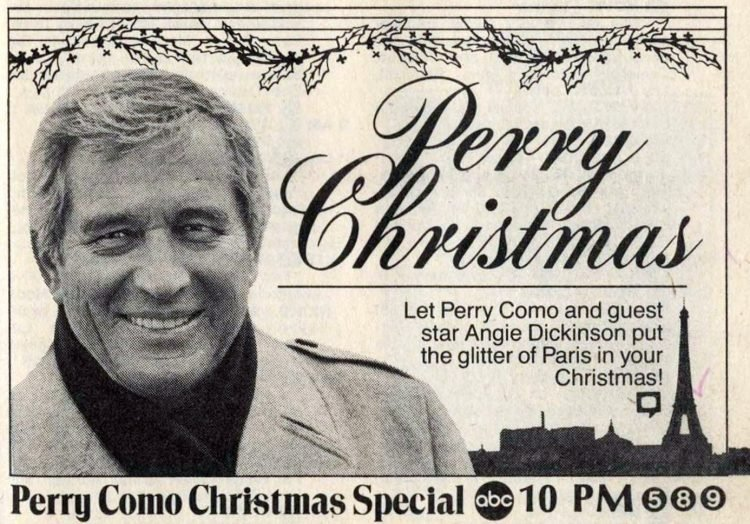 Perry Christmas TV special 1982