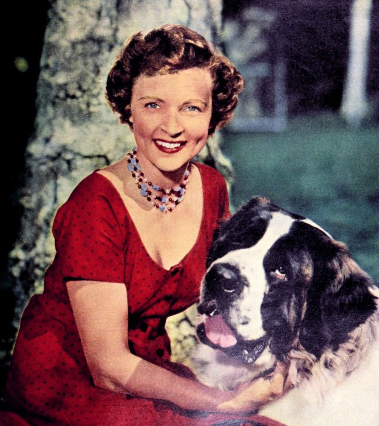 Pet-lover Betty White advice on finding the best dog for you