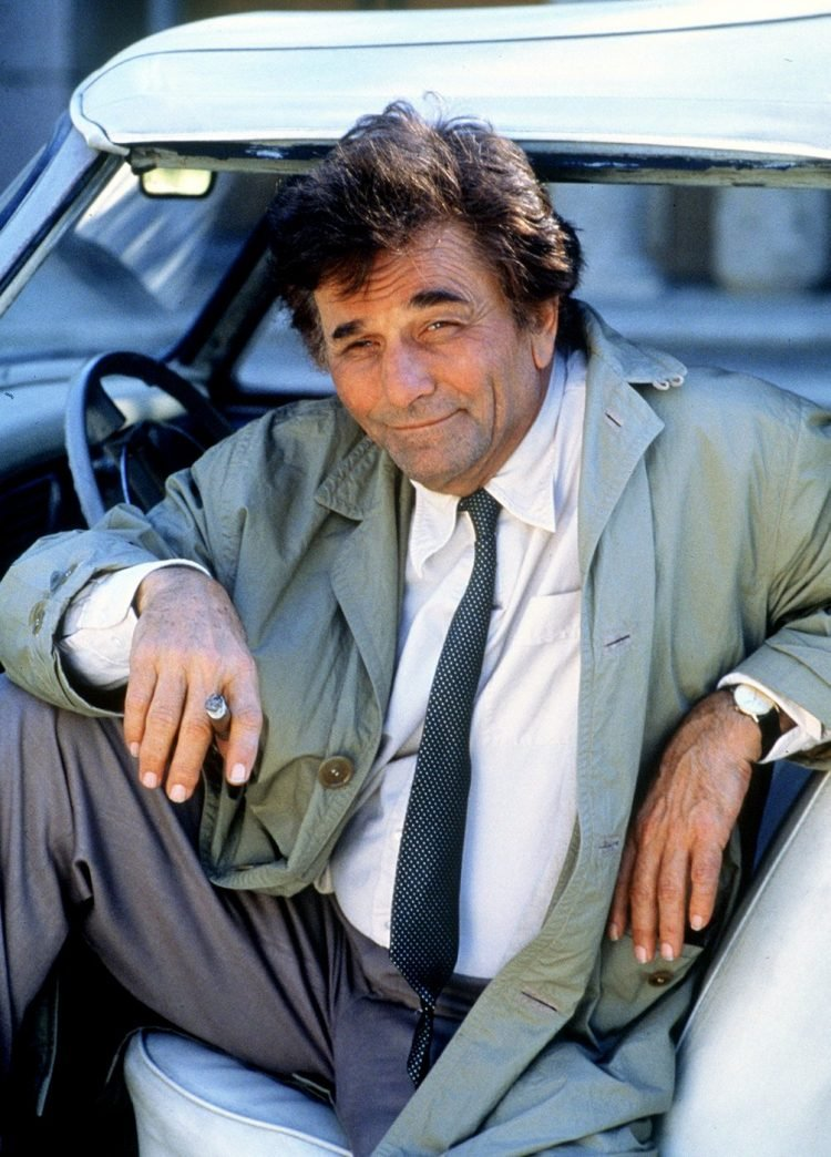 Peter Falk vintage TV show Columbo (1)