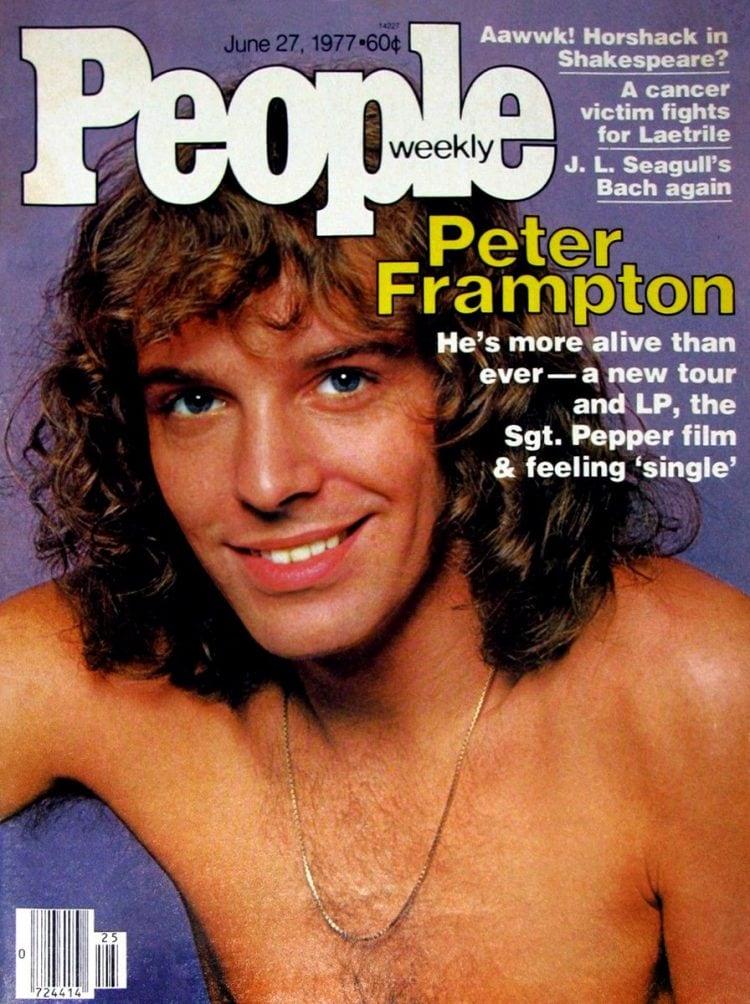 Peter Frampton People magazine cover June 27 1977
