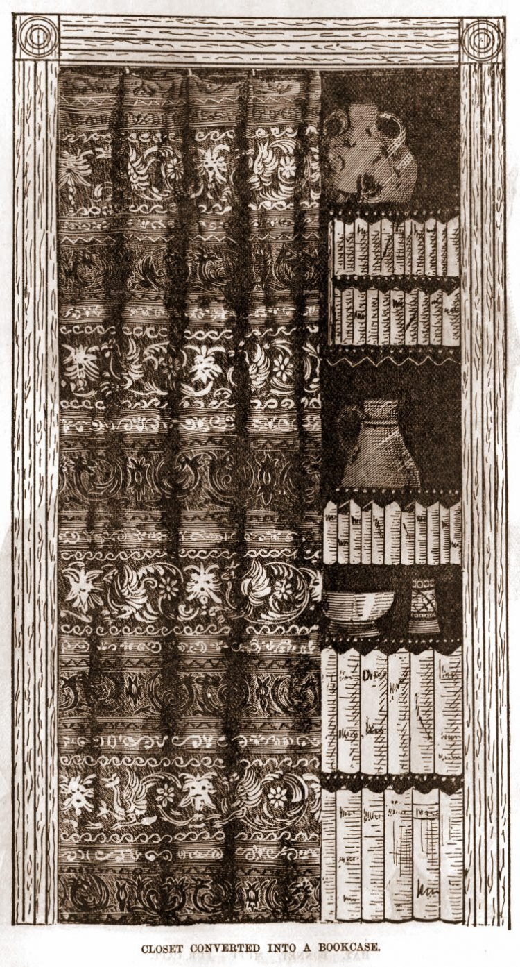 Peterson's Magazine 1888 Bookcase