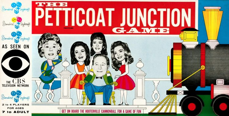 Petticoat Junction TV show board game