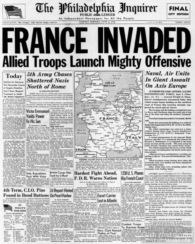 France Invaded: Allied Troops Launch Mighty Offensive