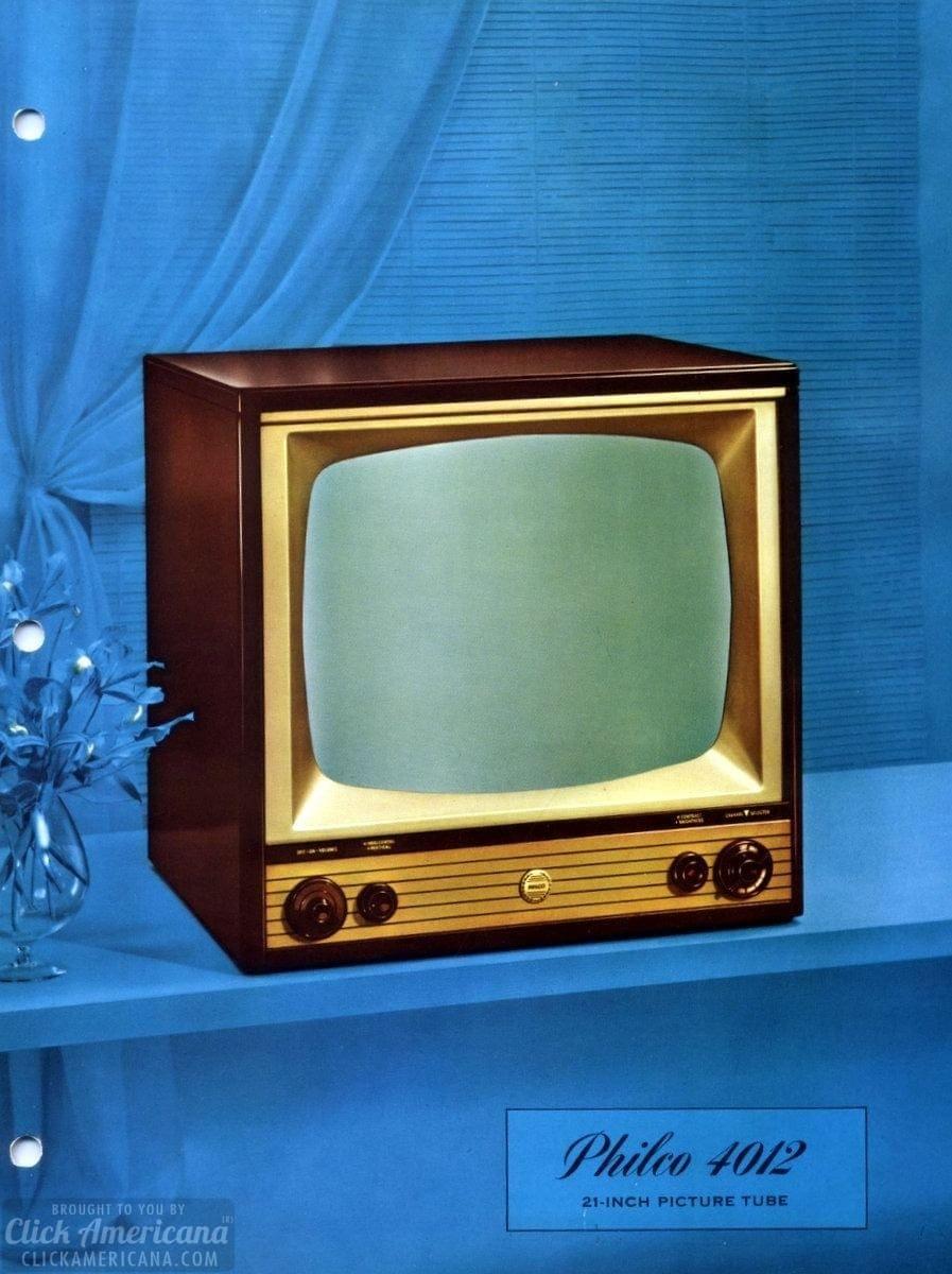 Vintage Philco TV set from 1958