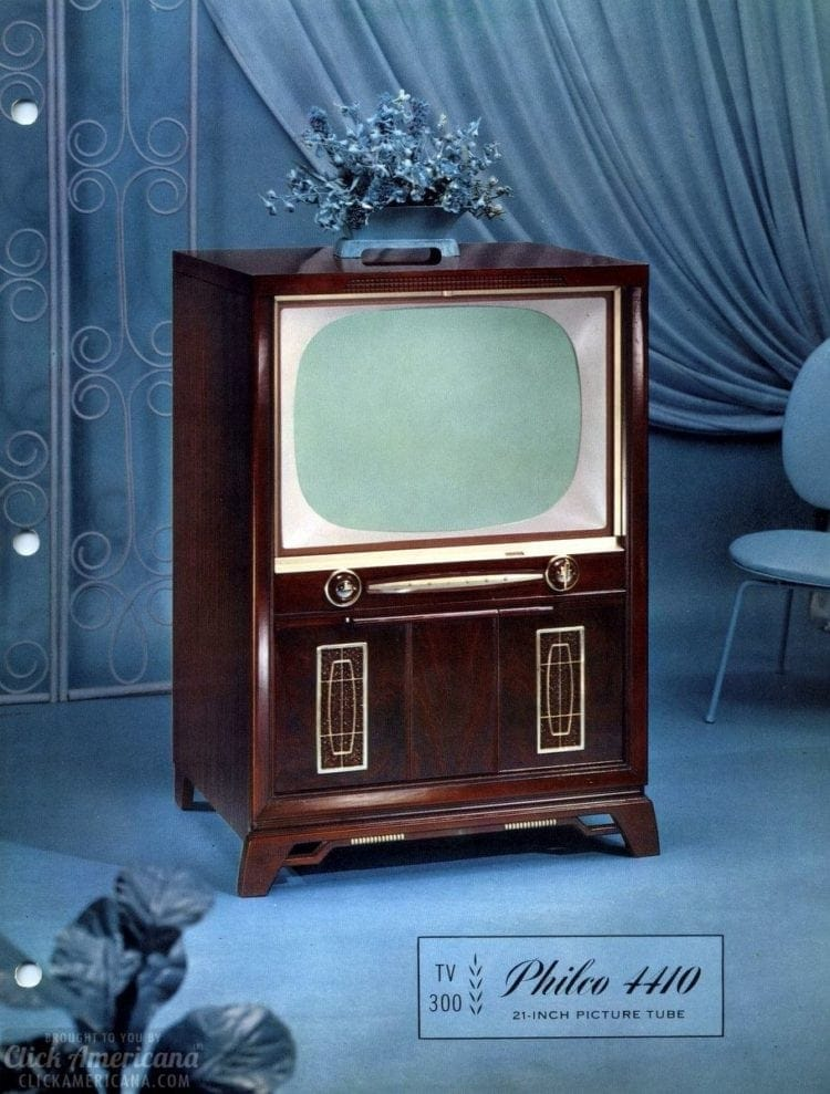 Vintage Philco TV set from 1958