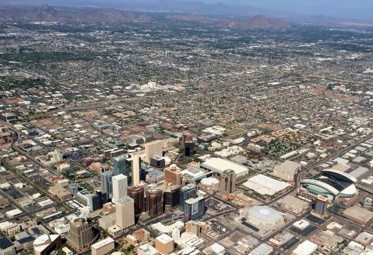 Phoenix, Arizona in 2015