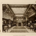Photographic studio - gallery at the Astoria Hotel in 1903