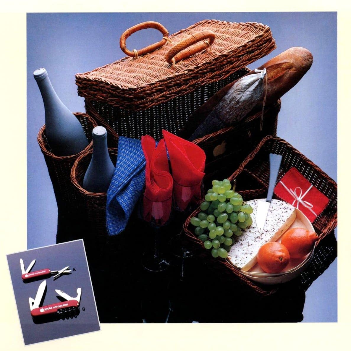 Picnic basket from Apple