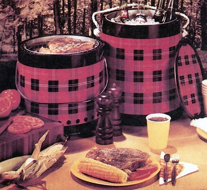 Picnic coolers from the '70s