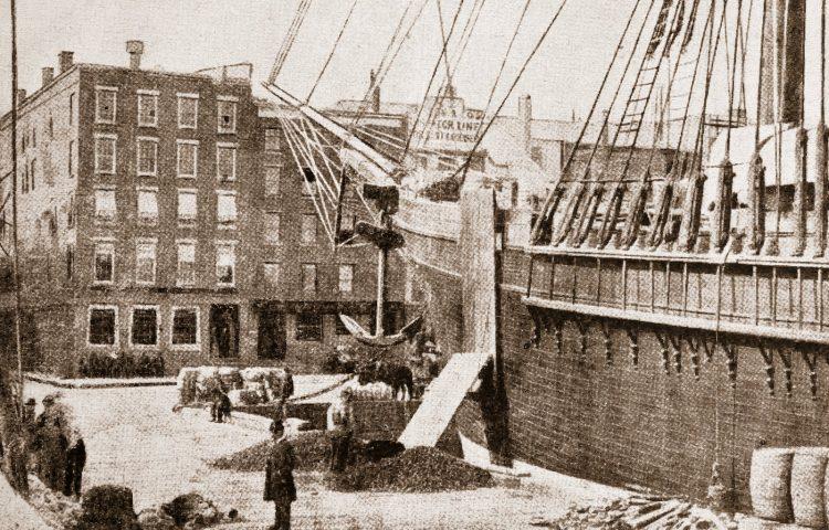 Pier 19 - East River - New York - 1880s