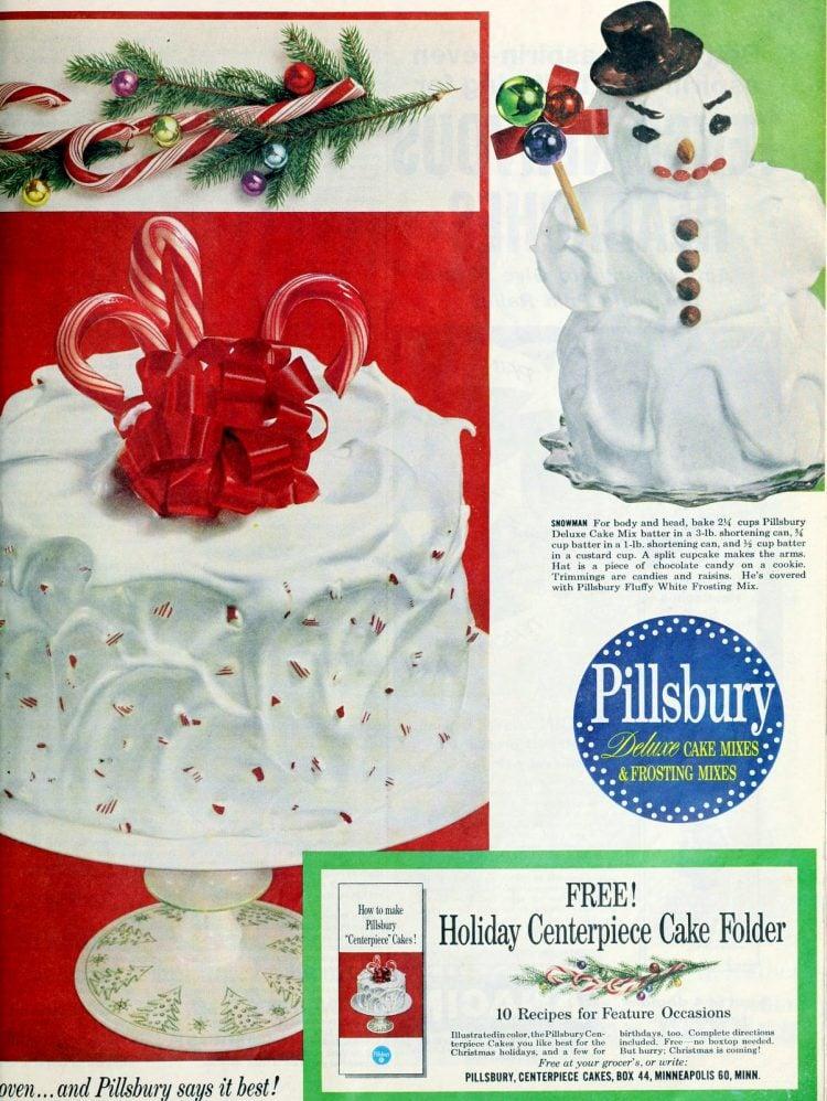 Pillsbury Christmas cake ideas from 1959 (2)