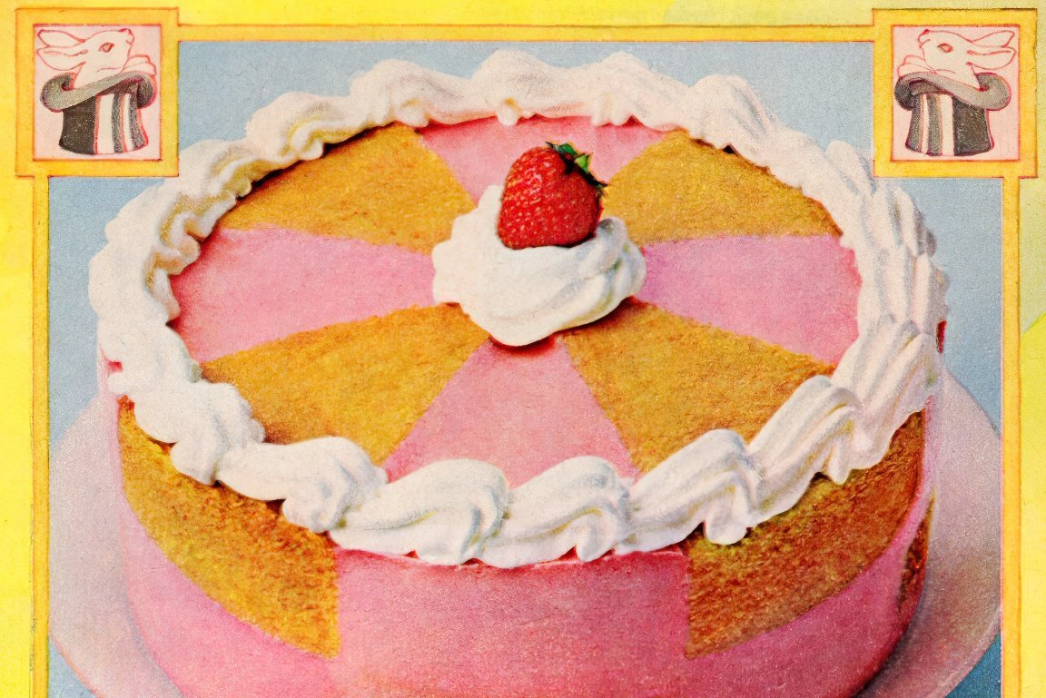 Pink Magic Jell-O cake recipe (1978)