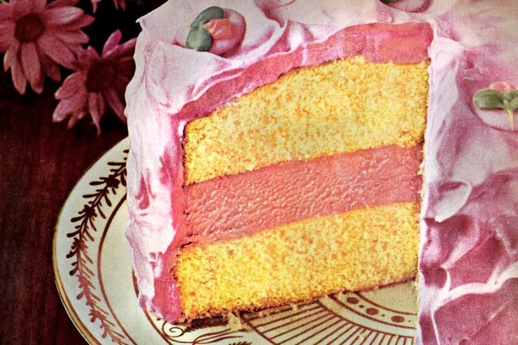 Pink lemonade ice cream cake recipe