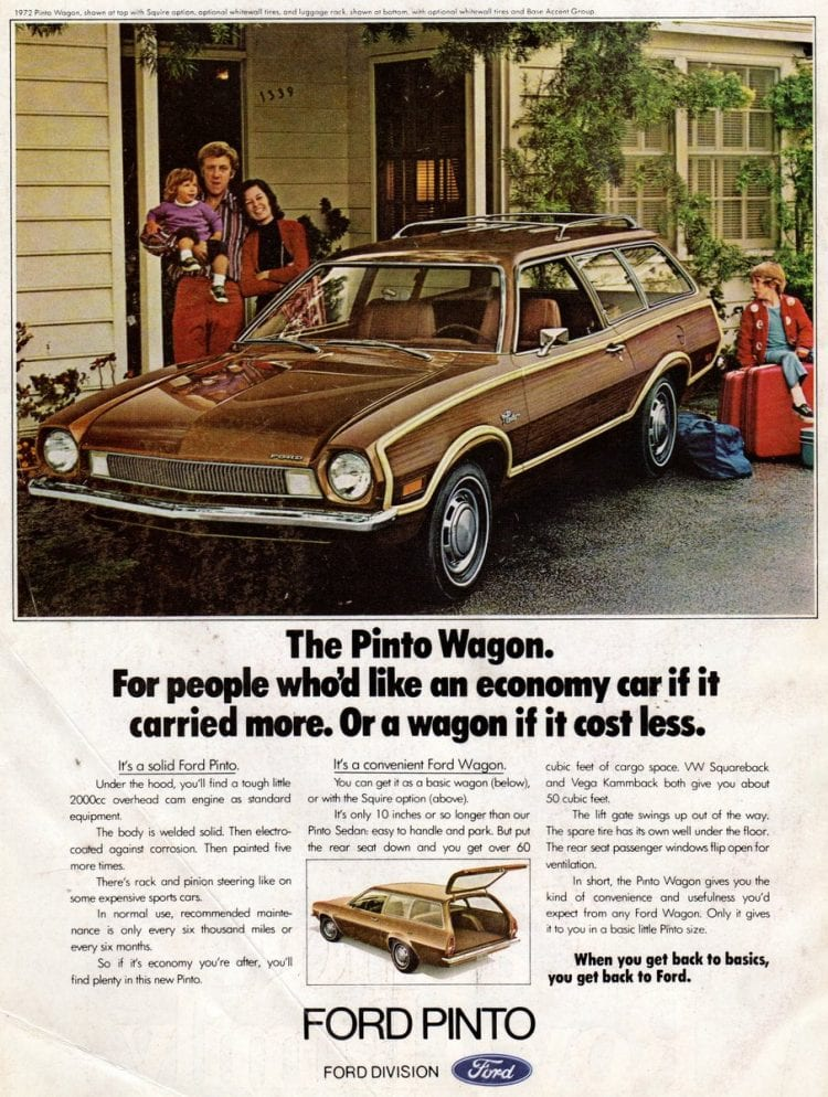 Pinto Wagon from Ford 1972