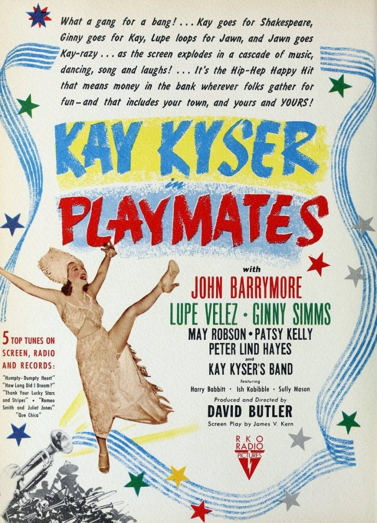 Playmates, by Kay Keyser and his orchestra 1942