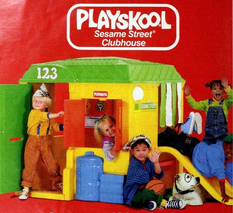 Playskool Sesame Street Clubhouse (1989)