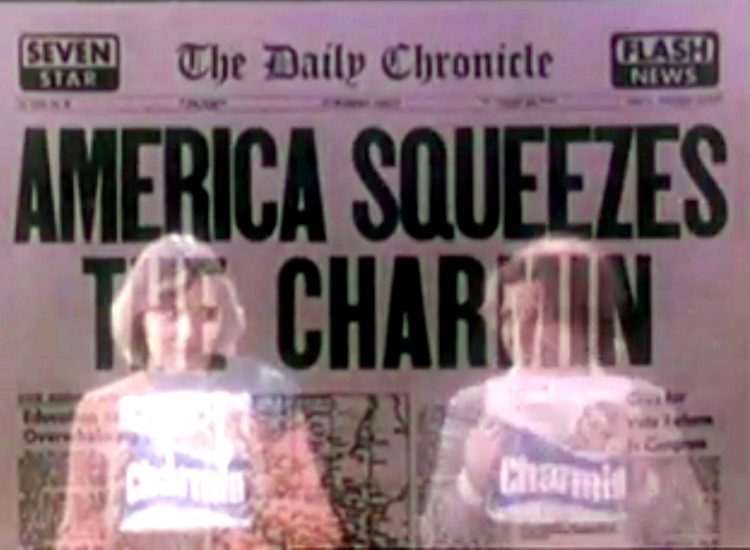 Please don't squeeze the Charmin - Vintage TP ads from the 70s and 80s (2)