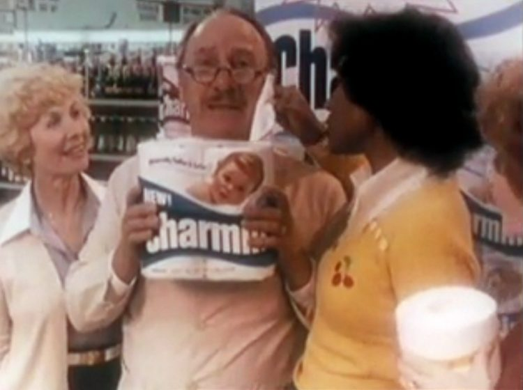 Please don't squeeze the Charmin - Vintage TP ads from the 70s and 80s (4)