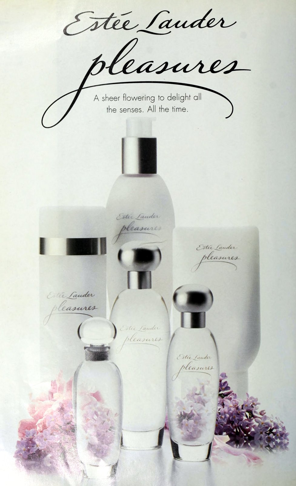 Pleasures from Estee Lauder (1998) at ClickAmericana.com
