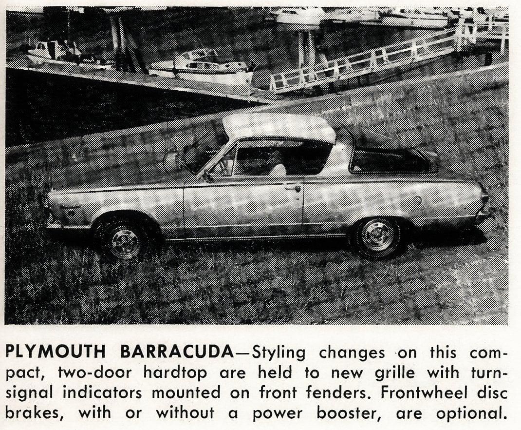 Plymouth Barracuda -- Classic cars (1965)