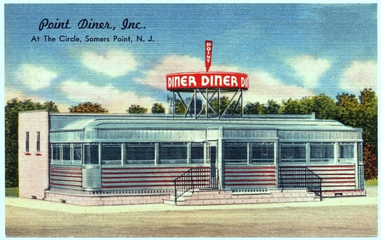 Point Diner, Inc., at the circle, Somers Point, N. J.
