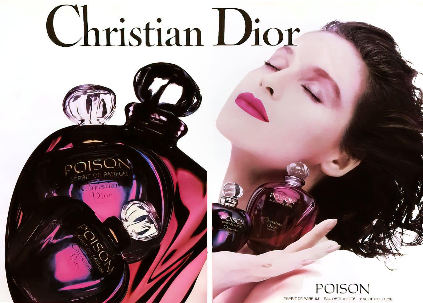 Poison fragrance by Christian Dior (1990) at ClickAmericana.com