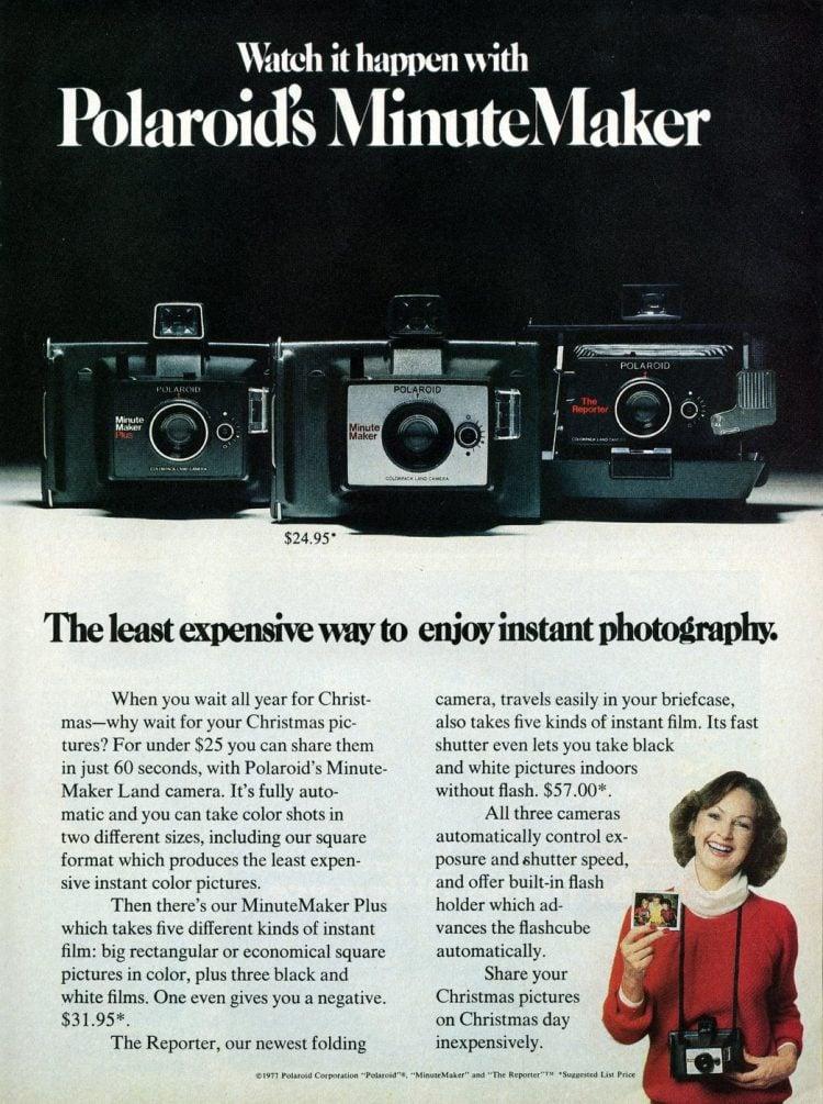 Polaroid's MinuteMaker (1977)