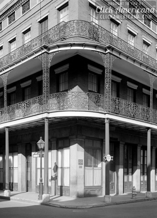 Pontalba Buildings, Chartres St. opp. Jackson Sq., New Orleans-c1937