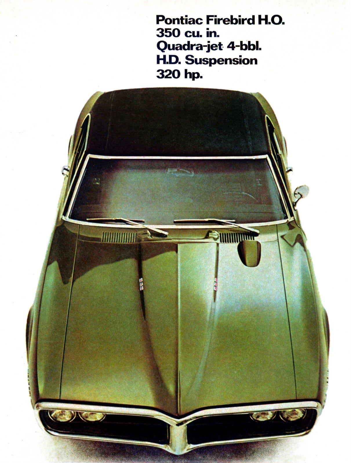 Pontiac Firebird HO from 1968