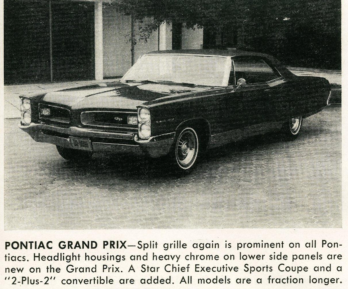 Pontiac Grand Prix -- Vintage cars (1965)