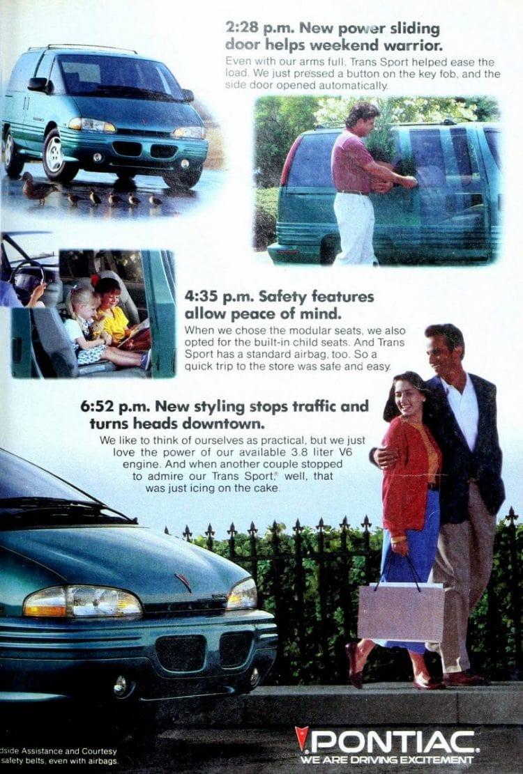 Pontiac Trans Sport minivan from 1993 (1)