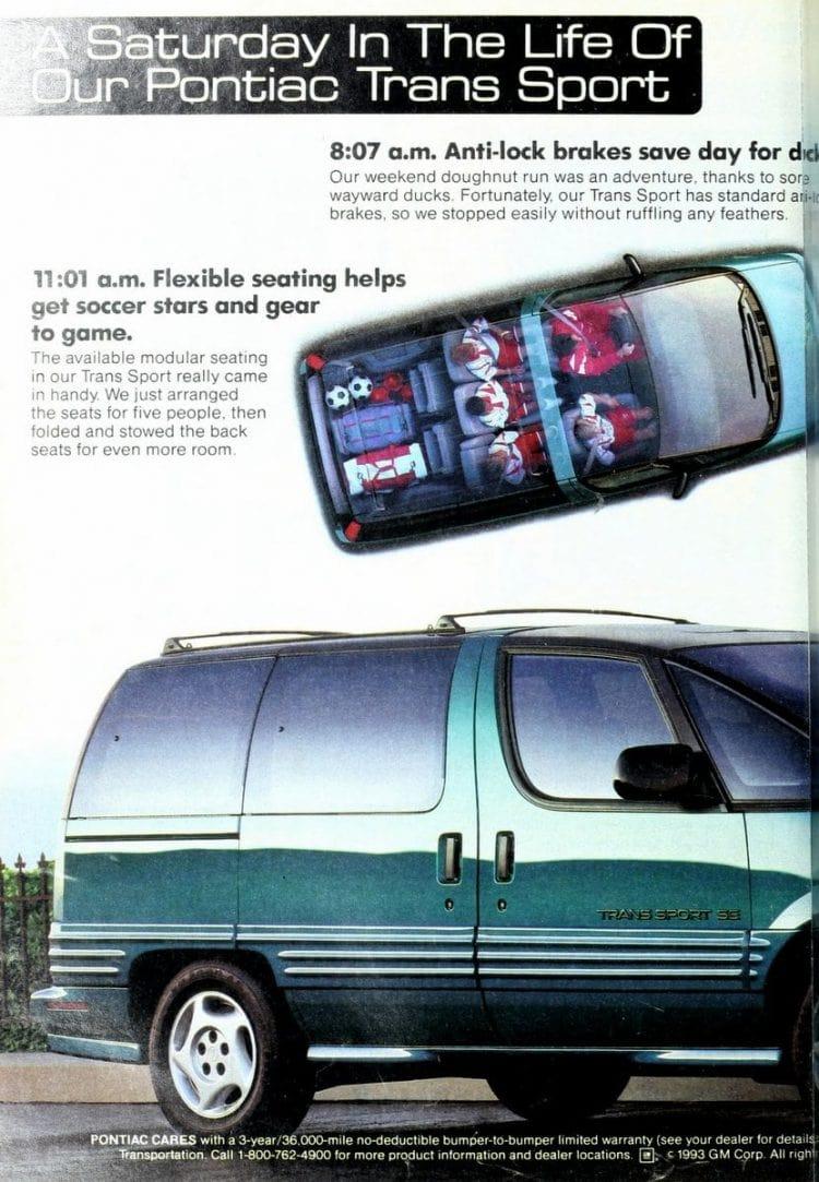 Pontiac Trans Sport minivan from 1993 (2)