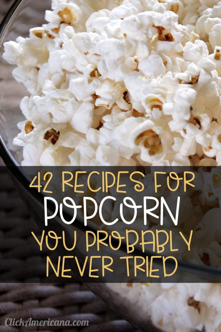 Popcorn recipes to try