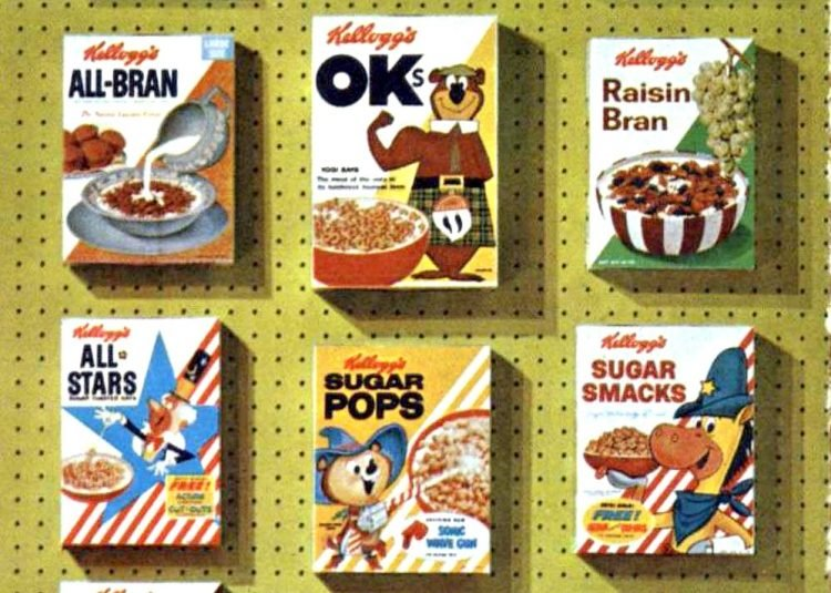 Popular old Kellogg's cereal in 1960 (1)
