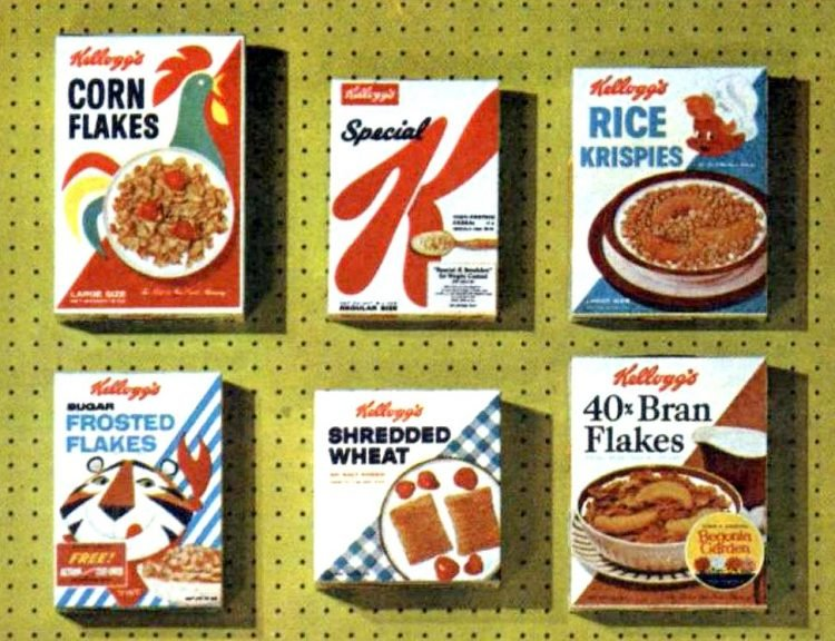 Popular old Kellogg's cereal in 1960 (2)