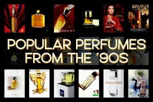 Popular perfumes of the 1990s