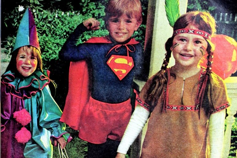 Popular vintage 70s Halloween costumes for kids that you could sew