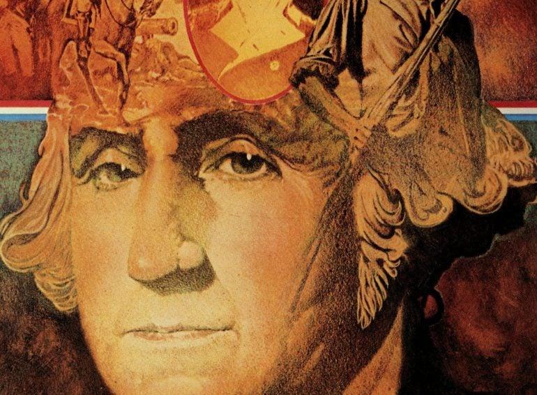 Portrait George Washington - National Guard Heritage