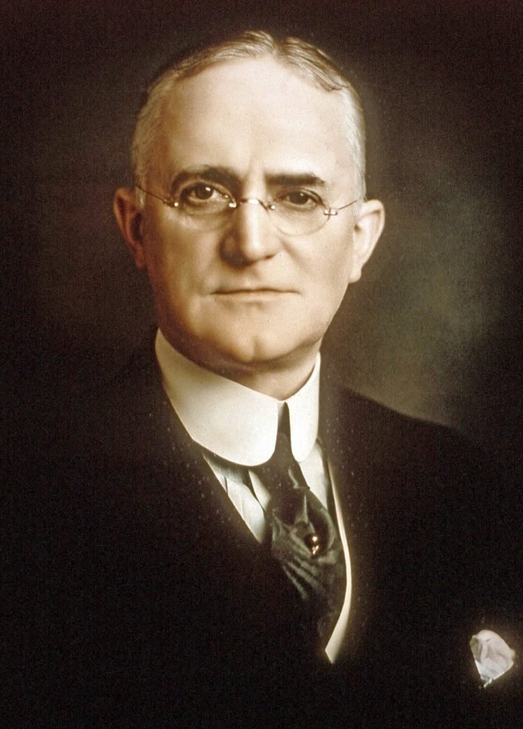 Portrait of George Eastman