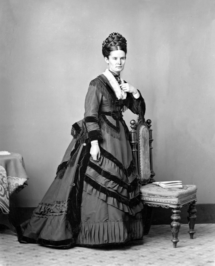 Portrait of Mary Nathan 1870