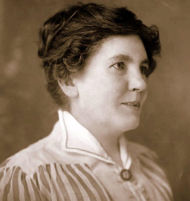 Portrait of author Laura Ingalls Wilder