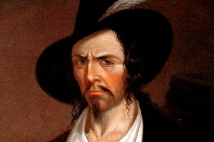 Portrait of pirate Jean Lafitte