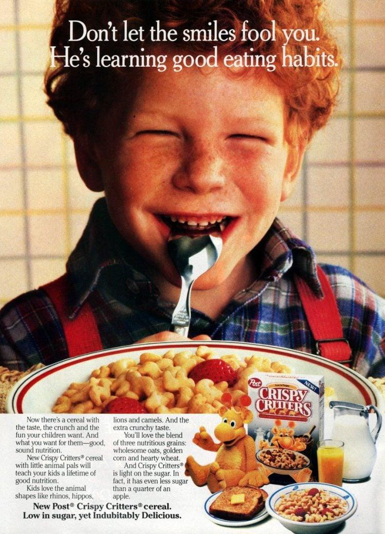 Vintage Crispy Critters cereal (1987)