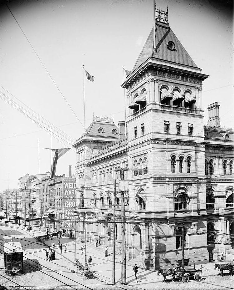 Post Office, Albany, N.Y