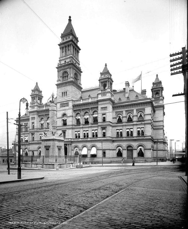 Post Office, Baltimore, Md