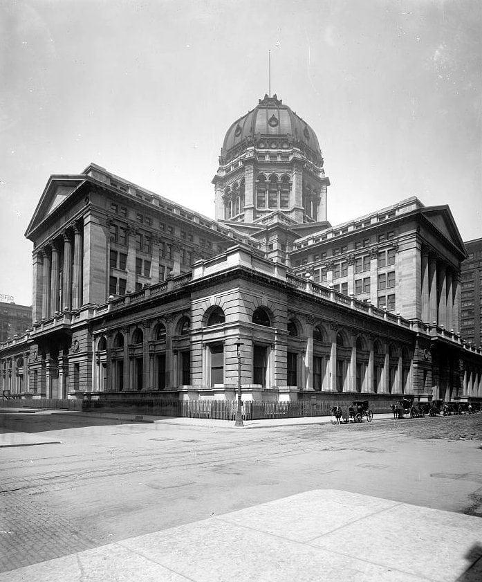 Post Office, Chicago, Illinois 1900s