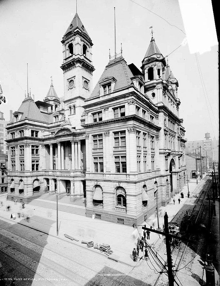 Post Office, Pittsburg, Pa